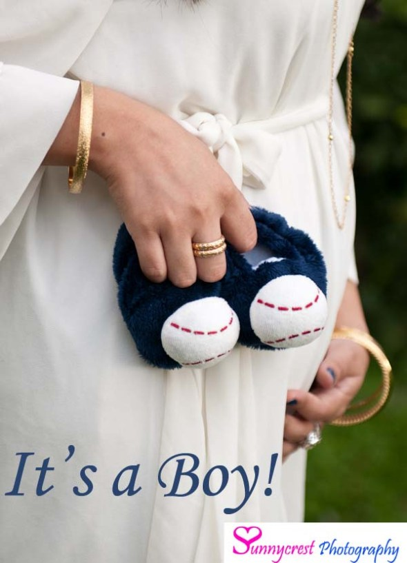 baby gender announcement